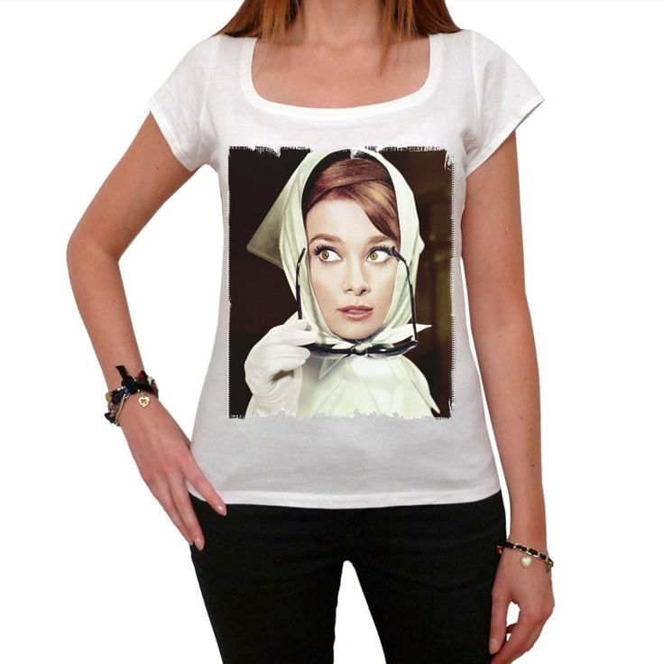 Audrey Hepburn Charade movie Women's T-shirt picture celebrity