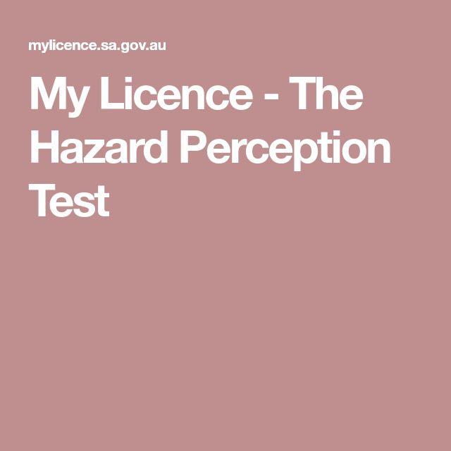 My Licence - The Hazard Perception Test