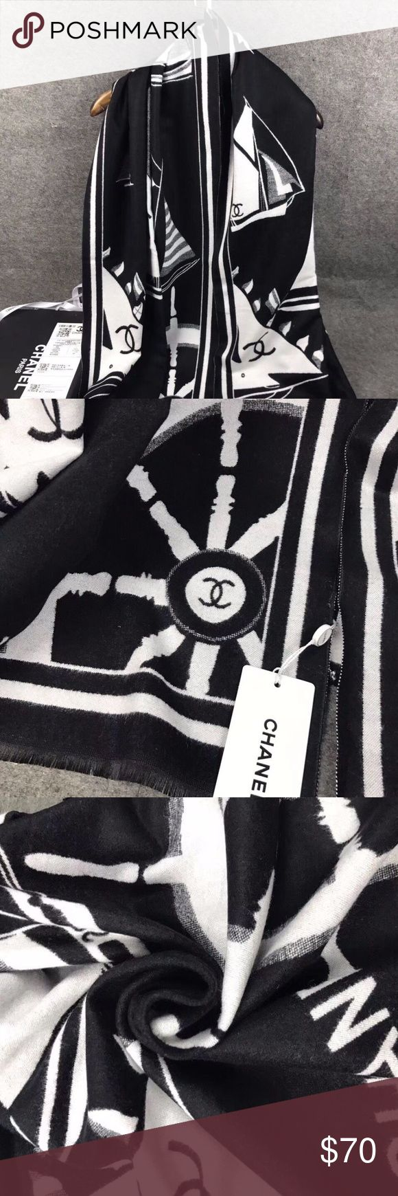 Sale!!!Cashmere Scarf CHANEL Scarf become very hot sale products. Not only keep you warm, but also keep you fashion in winter. Kinds of CHANEL Scarfs available now.Delivery Time approximate 7-10 Days! CHANEL Accessories Scarves & Wraps