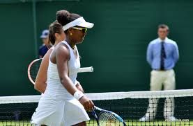 6/27/16 Good to see Vicky... Wimbledon 2016 Day 1, WTA round- Kasatkina def. Victoria Duval in her opening match.