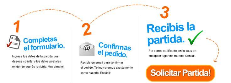Partidasya.com - Solicita online partidas de nacimiento, matrimonio y defunción del Registro Civil