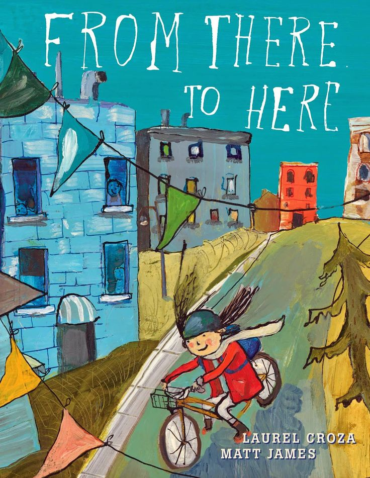 I thought this a particularly terrific book to fit with the grade 2 social studies unit about communities, especially between urban and rural communities in Canada. A little girl was just moved to Toronto from rural Saskatchewan and makes many observations about life in both places. A new friend helps her settle in.