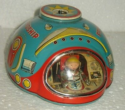 RARE VINTAGE LITHO TIN TOY MADE IN JAPAN WITH TRADE MARK MODERN TOYS   Toys & Hobbies, Vintage & Antique Toys, Other Vintage & Antique Toys   eBay!