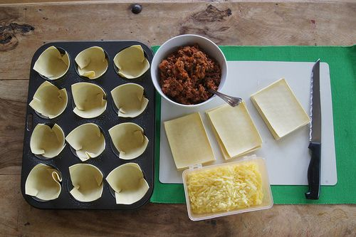 Mini Lasagnes | Planning With Kids