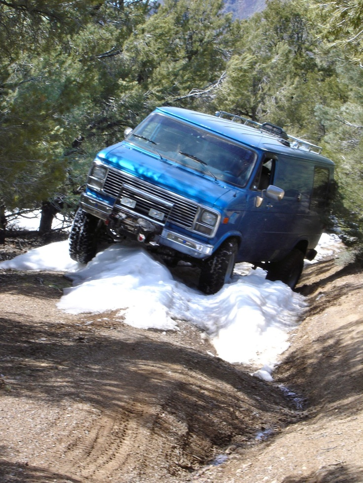 Four Wheel Drive Van Campers | Our Four Wheel Camper: Between Two Canyons, Again