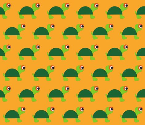 turtle fabric by mofje on Spoonflower - custom fabric