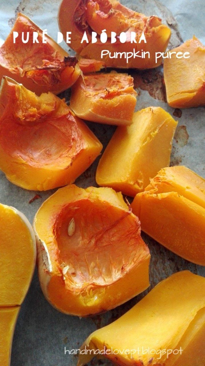 Puré de abóbora / Pumpkin puree