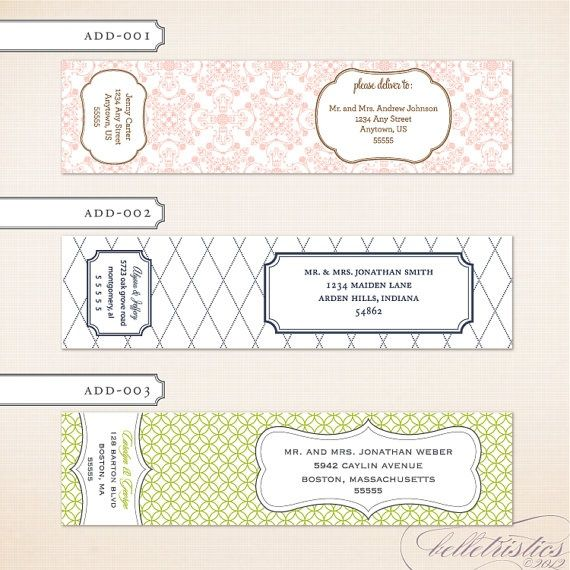 Best Address Labels Images On   Cards Graphics And
