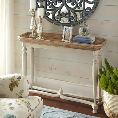 Amelia Console Table - Natural Stonewash