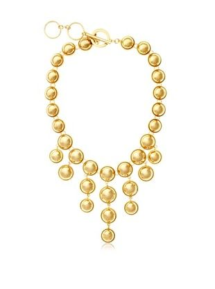 54% OFF Leslie Danzis Gold Bubble Necklace