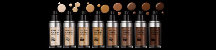ULTRA HD FOUNDATION by MAKE UP FOR EVER. 100% Flawless. 0% Noticeable. The Icon That Changed The Face of Make Up.