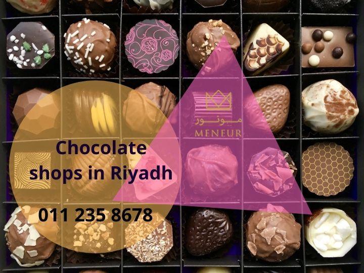 Chocolate Shops In Riyadh Chocolate Shop Chocolate Riyadh