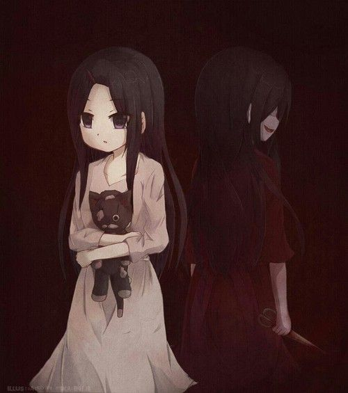 everyone has their bad side >:) sachiko corpse party