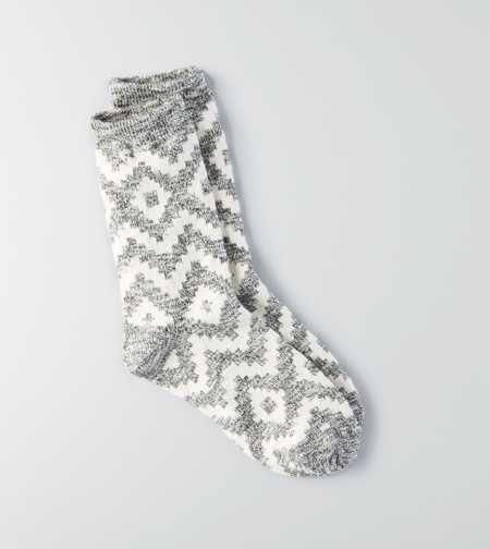 AEO Geo Crew Socks - Buy One Get One 50% Off