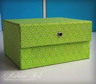 Катрина Арт: Мастер - класс по тканевой коробочке
