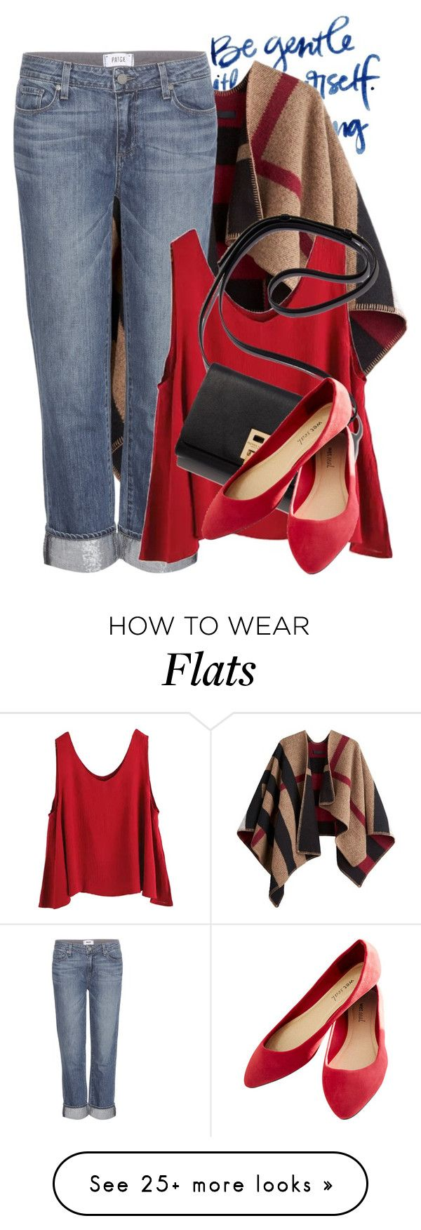 """DENIM"" by crazyfashionlover on Polyvore featuring Burberry, Paige Denim, WithChic and Wet Seal"