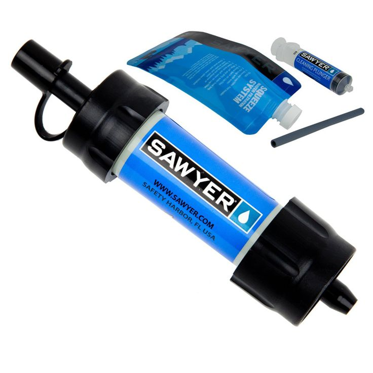The Sawyer Mini Water Filter is a second generation filter that is the lightest and most versatile personal filtration system from Sawyer. With a total fiel