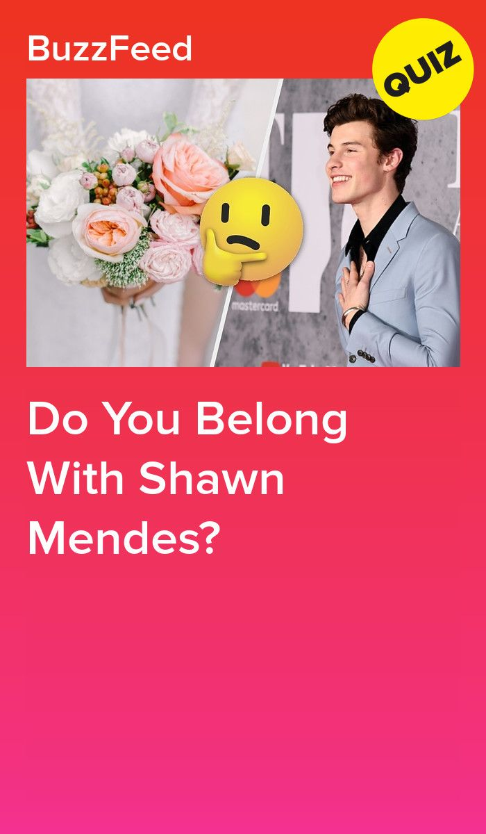 Do You Belong With Shawn Mendes Shawn Mendes How Many Kids