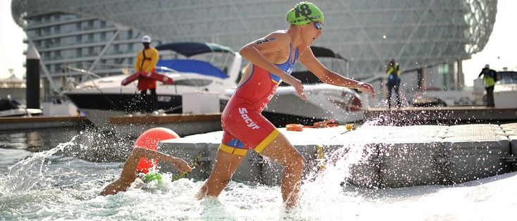 Did you know that out of the 32 career World Triathlon Series races that Spaniard Carolina Routier has started in, she has led in the swim a total of 20 ti