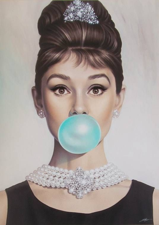 Audrey Tiffany Blue