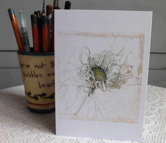 Daisy flower greetings card  https://www.etsy.com/listing/231407646/daisy-flower-greetings-card-watercolor