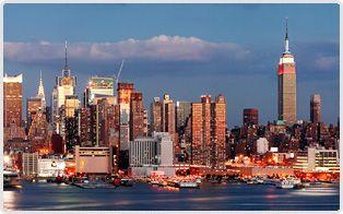 The famous skyline of Midtown, Manhattan!