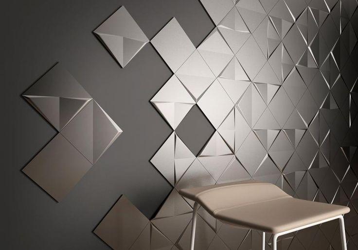 Spiegeleffekt: glänzende Metallic-Fliesen - Bild 3 - [SCHÖNER WOHNEN]