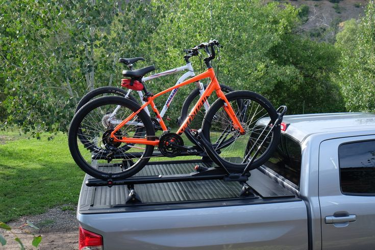 1794 Toyota Tundra >> Paul Fensterer uploaded this image to '2015 Toyota Tundra 1794 Edition CrewMax… | Bike roof rack ...