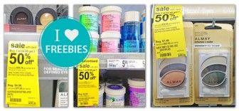 Free Almay Makeup Removers at Walgreens!