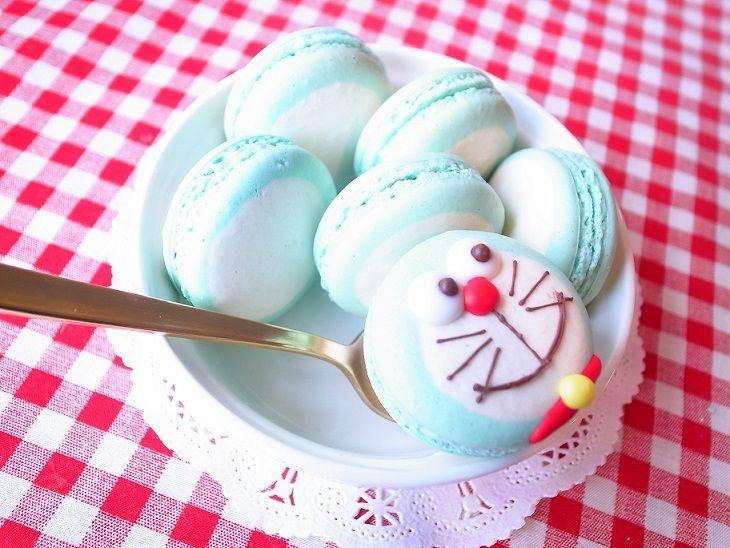 doraemon macaron