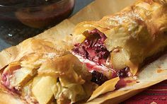 Apple and blackberry strudel recipe - Telegraph