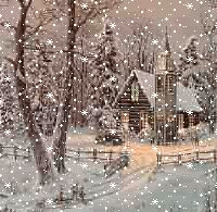animated christmas scene Pictures, Images and Photos