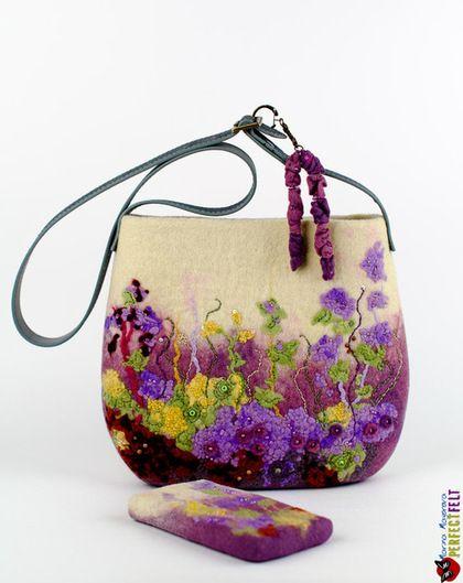 """Сумка из войлока """"Florine"""" / Felted purse"""