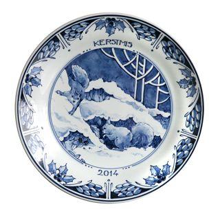 Christmas plate design #2