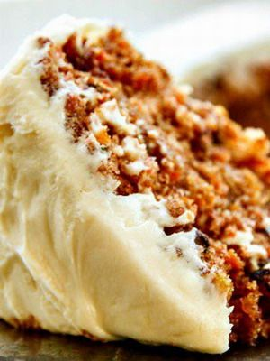 The BEST Carrot Cake Recipe.The reviews on this cake were awesome and I am so glad I tried it.Hands down the best carrot cake I have made!!! The buttermilk glaze adds another dimension to this delicious recipe. I double up on the cream cheese for the frosting. I also used 1-1/2 c of sugar in the batter instead of 2c.  For the buttermilk glaze i reduced the baking soda to 1 teaspoon. Cake is perfect, moist and dense  with the right amount of sweetness.