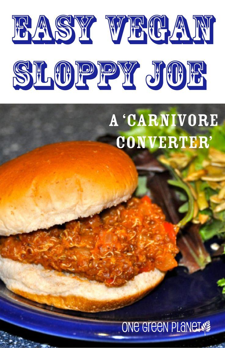The Carnivore Converter! Easy Sloppy Joe! #vegan #vegetarian #easy # ...