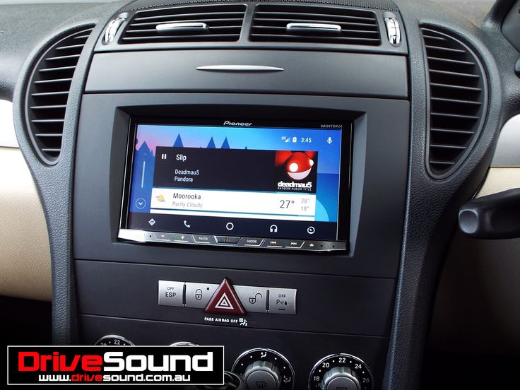 Mercedes Benz SLK with Android Auto installed by DriveSound.