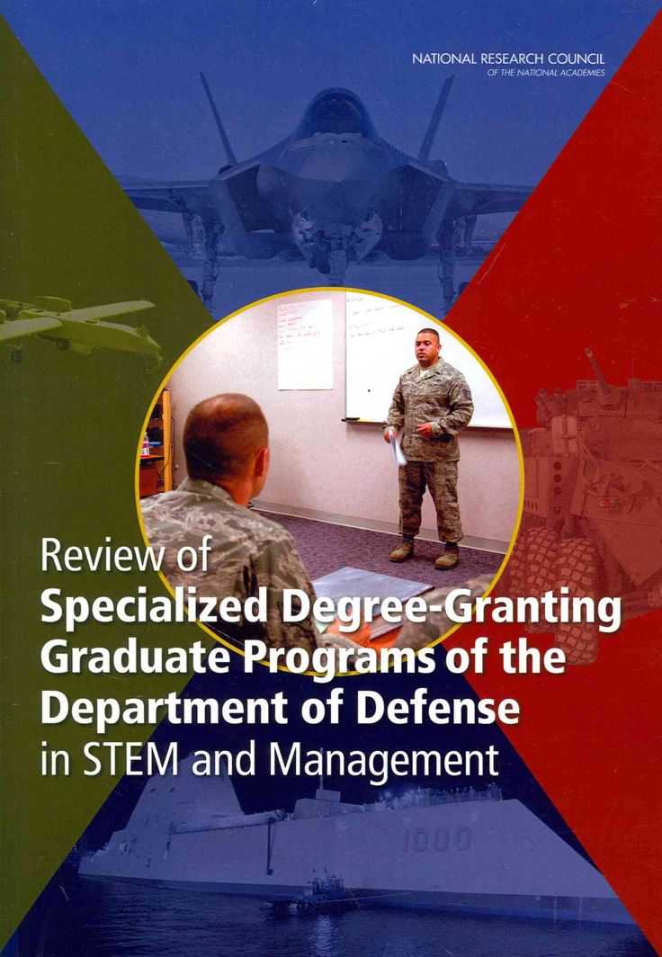Review of Specialized Degree-Granting Graduate Programs of the Department of Defense in Stem and Management