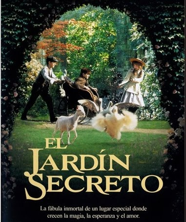el jardin secreto_Frances Hodgson Burnett / Aaameee esta peli!!!