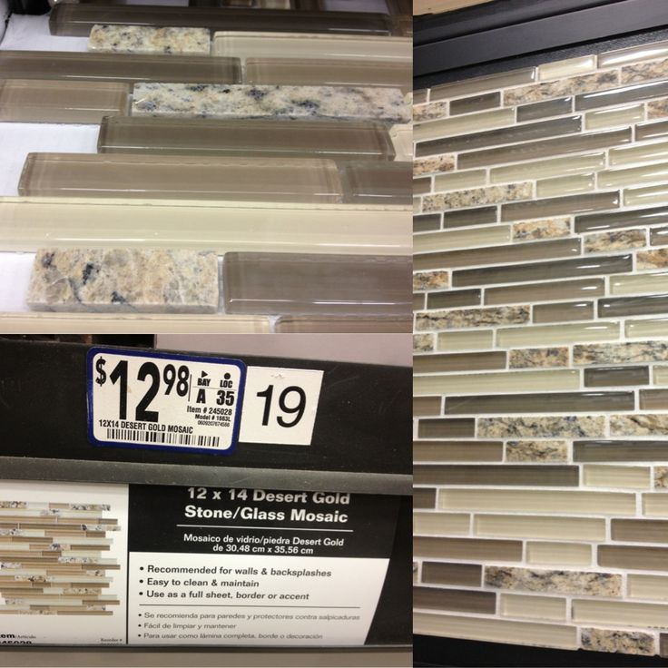 Mosaic Backsplash (stone Is Same As Granite Countertop