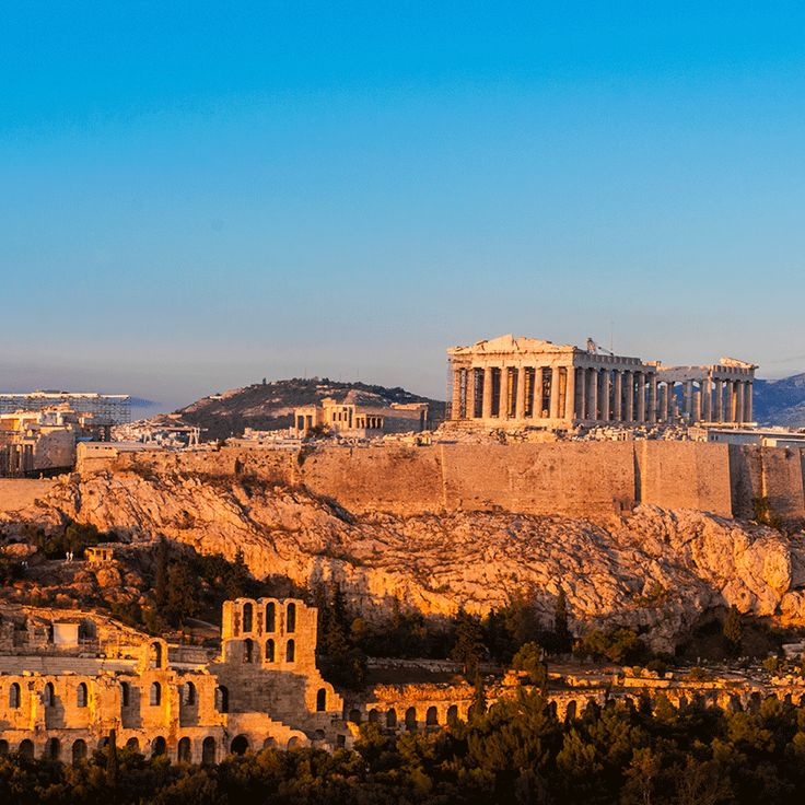 """""""Kalimera!"""" si salutano fra loro gli Ateniesi al sorgere di ogni giorno sulla città."""