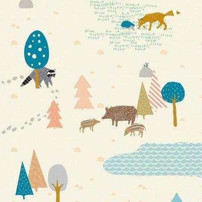 Papier peint - Forêt