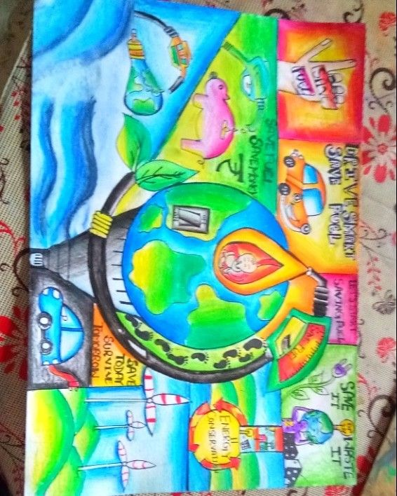 Save energy save fuel combine poster by Palak Gulati ...