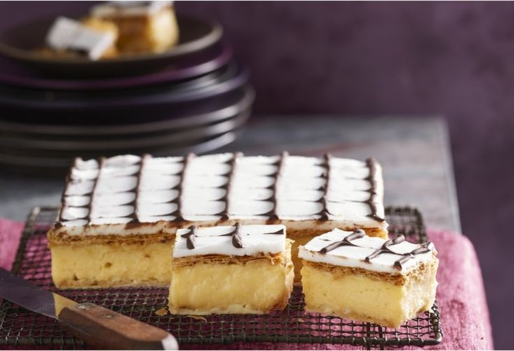 There are some things you just don't mess with – vanilla slice is one of them