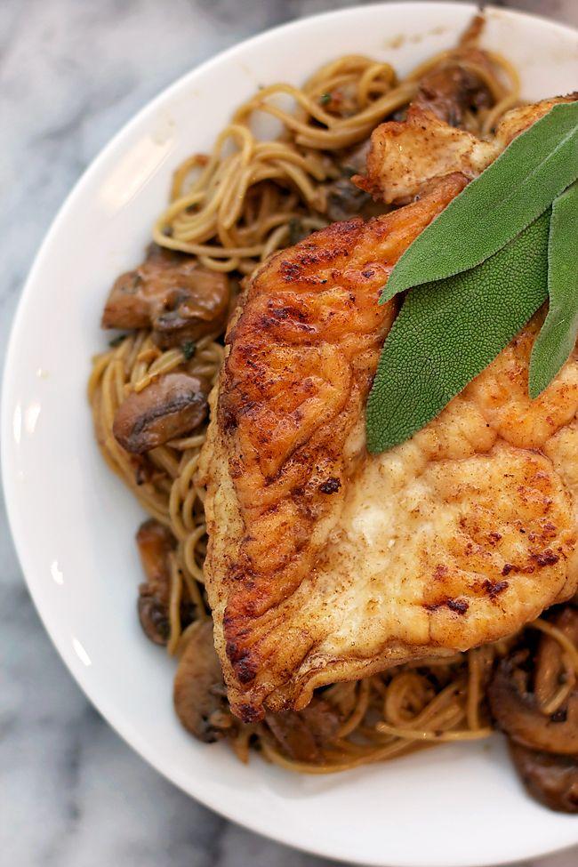 The BEST Chicken Marsala recipe! | B. Britnell
