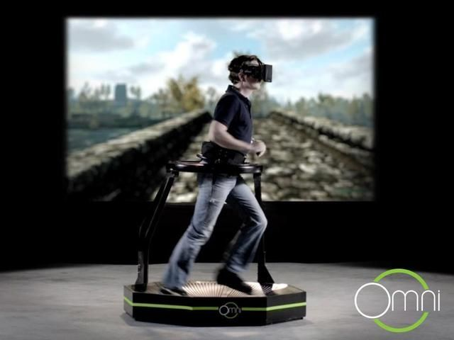 Omni, A Multidirectional Treadmill For Immersive Virtual Reality Gaming