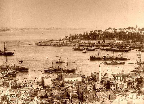 Panoramic view of Istanbul