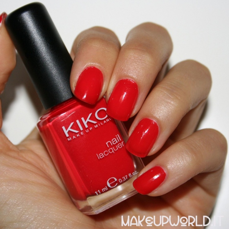 #red #kiko #nailpolish