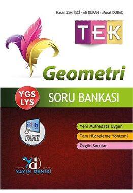 Yayın Denizi YGS LYS TEK Geometri Soru Bankası