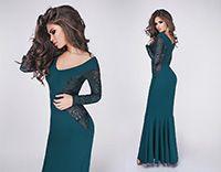 Вечернее платье Elza зеленый